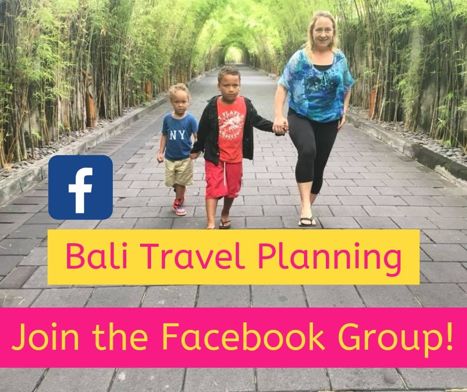 Bali Travel Planning with Kids